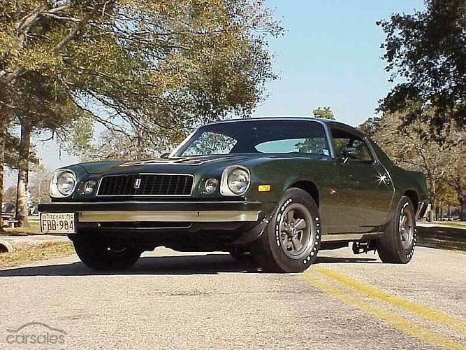 1976 Chevrolet Camaro Z28 Manual-SPOT-ITM-211563 - carsales com au