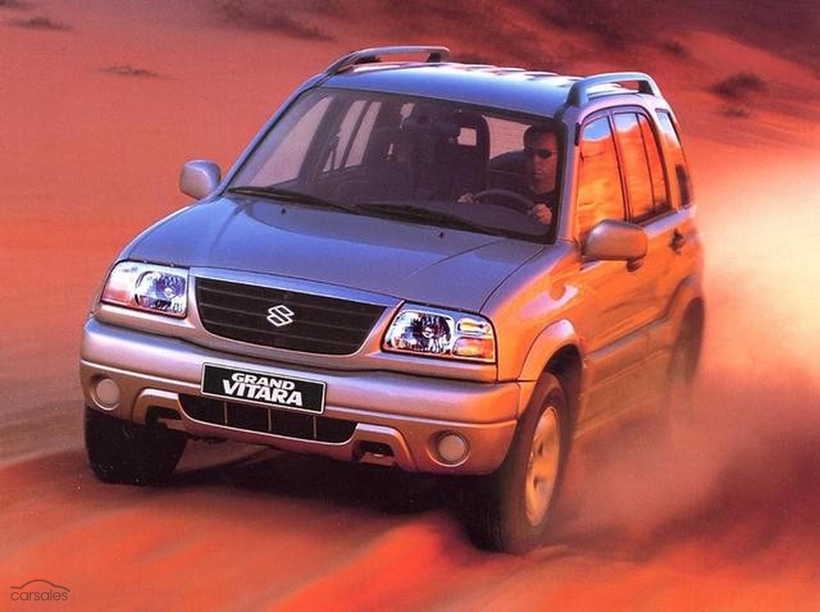 2001 Suzuki Grand Vitara Sports Manual 4x4-SPOT-ITM-274808