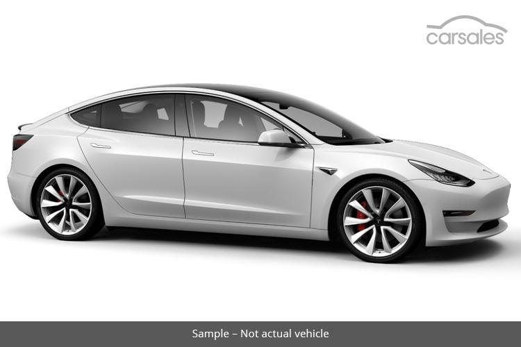 Tesla Model 3 White Performance Cars For Sale In Western Australia Carsales Com Au