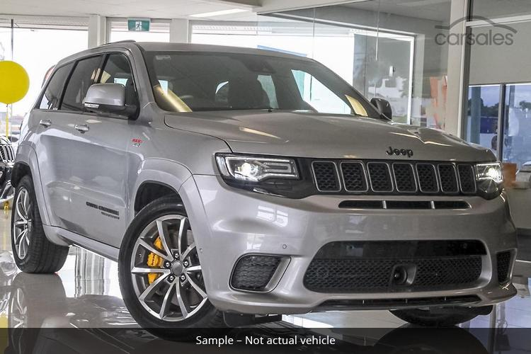 Jeep Grand Cherokee Trackhawk Silver Cars For Sale In New South