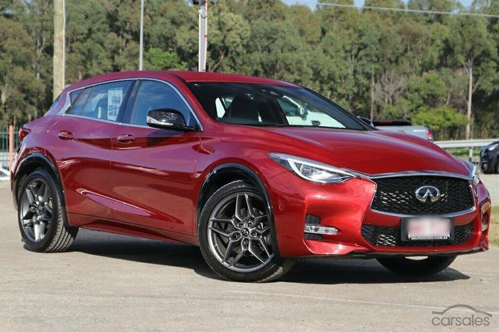 INFINITI Q30 Red cars for sale in Australia - carsales com au