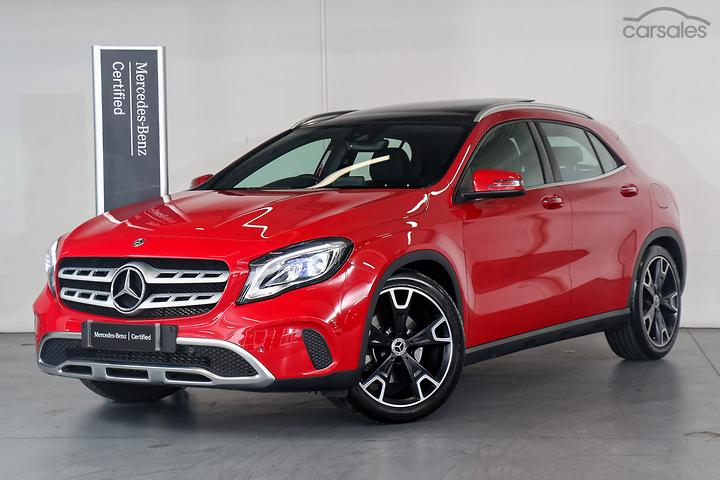 Mercedes-Benz SUV Small Automatic Turbo Intercooled Red cars