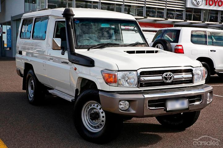 Toyota Landcruiser GXL Troopcarrier cars for sale in