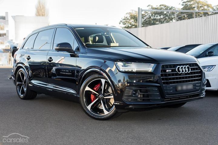 Audi SQ7 Black cars for sale in Australia - carsales com au