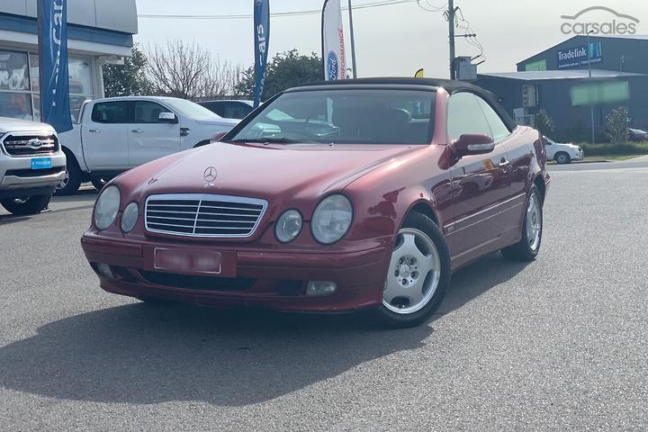 Mercedes Benz Supercharged Intercooled Red Cars For Sale In