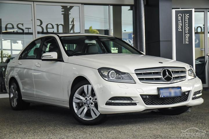 Mercedes-Benz C200 W204 White cars for sale in Australia
