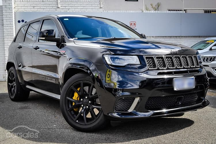Jeep Grand Cherokee Trackhawk Black Cars For Sale In Australia