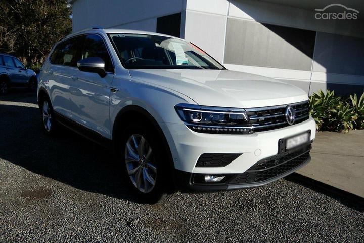 Volkswagen Tiguan 110TSI Comfortline Allspace White cars for sale in