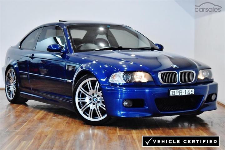 Bmw M Models M3 E46 Blue Cars For Sale In Australia Carsales Com Au