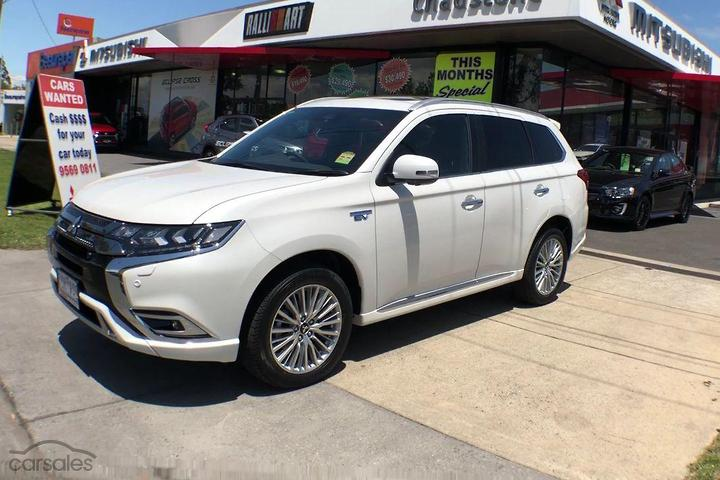 Mitsubishi Outlander PHEV Exceed cars for sale in Melbourne