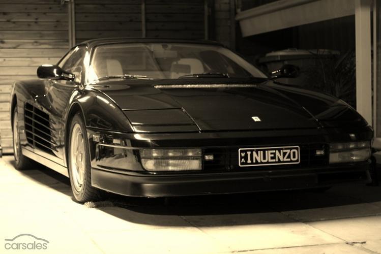 Ferrari Testarossa Black cars for sale in Australia