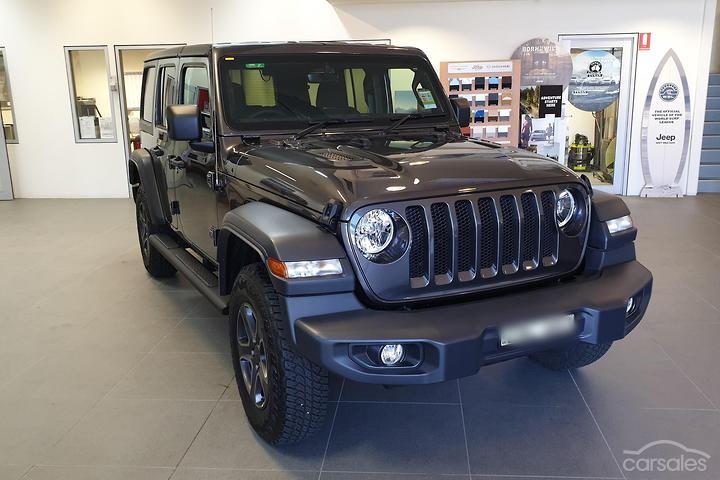 Jeep Wrangler Convertible Grey 4 Door cars for sale in