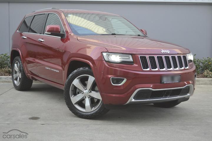 Jeep Grand Cherokee Overland Cars For Sale In Australia Carsales