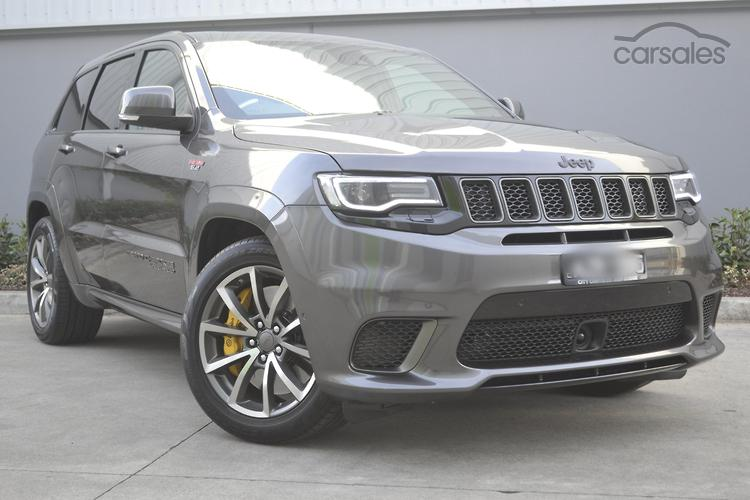 Jeep Grand Cherokee Trackhawk Grey Cars For Sale In Australia Carsales Com Au