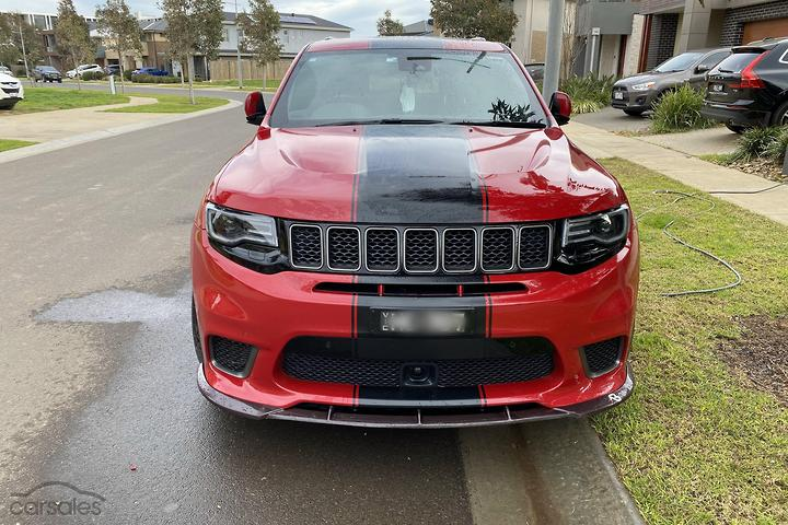 Jeep Grand Cherokee Trackhawk Cars For Sale In Victoria Carsales