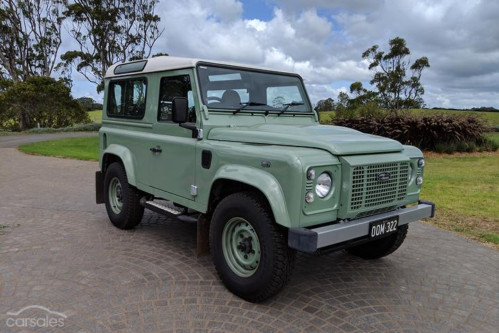 Land Rover Defender Heritage cars for sale in Australia - carsales
