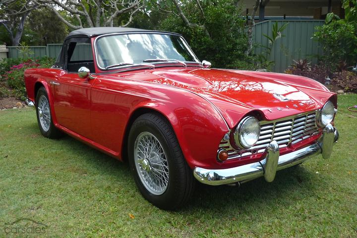 Triumph TR4 cars for sale in Australia - carsales com au