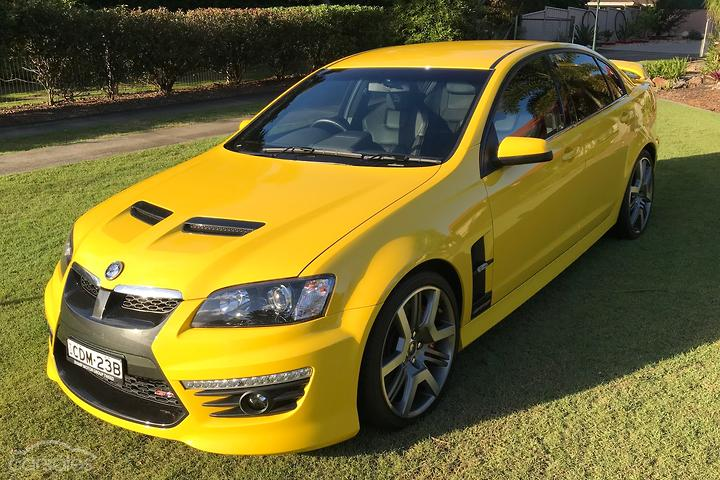 Holden Special Vehicles GTS Yellow cars for sale in
