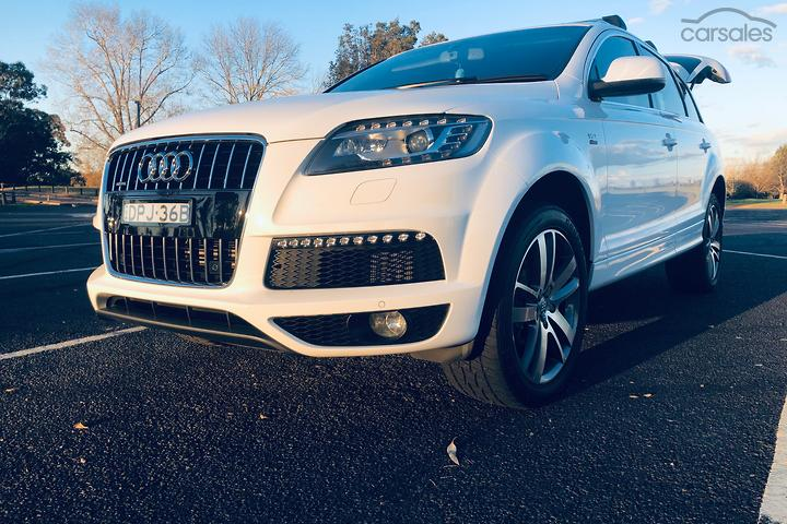 Audi Q7 Supercharged Intercooled White cars for sale in