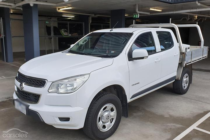 Holden Colorado Cab Chassis cars for sale in Australia