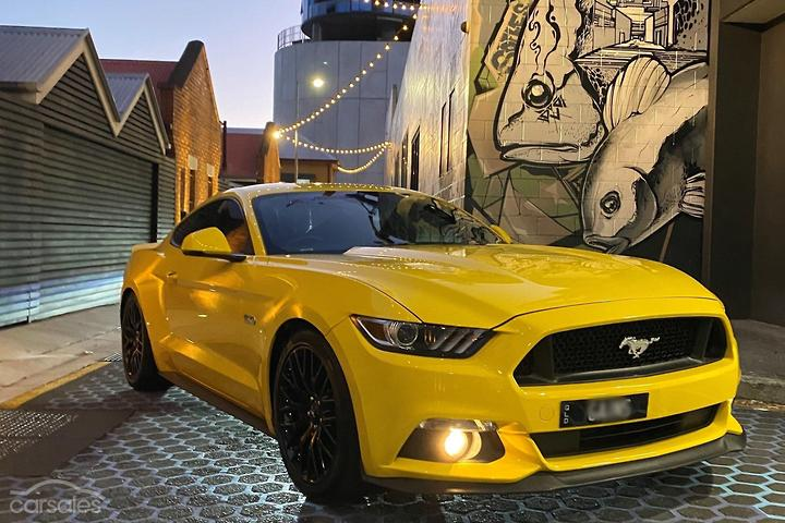 Ford Mustang Yellow Car For Sale In Brisbane South Queensland