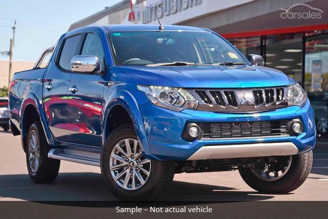 New Used Mitsubishi Triton Gls Blue Ute Cars For Sale In Australia