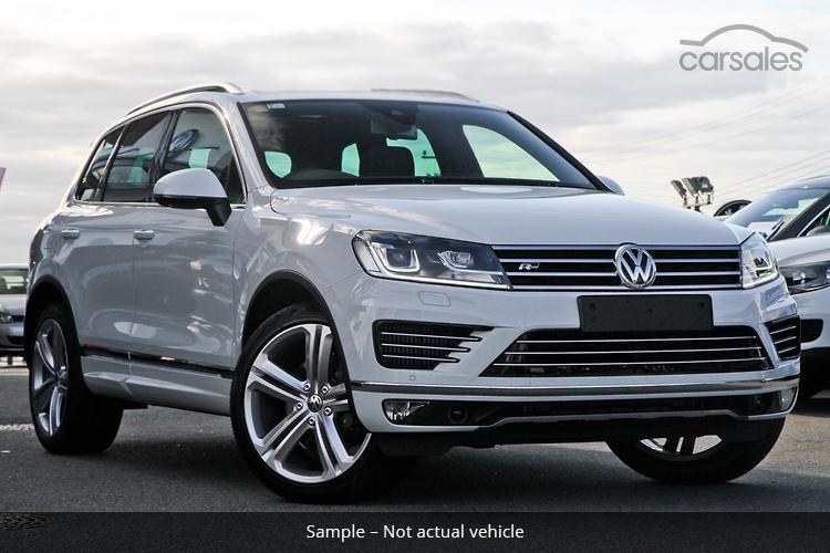 new & used volkswagen touareg cars for sale in act - carsales.au