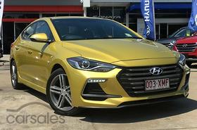 New & Used Hyundai Elantra Yellow cars for sale in Australia ...