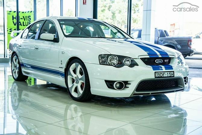 2007 Ford Performance Vehicles Gt Cobra Bf Mk Ii Manual