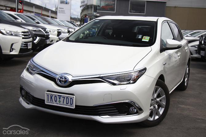 New Used Toyota Corolla Hybrid Cars For Sale In Australia