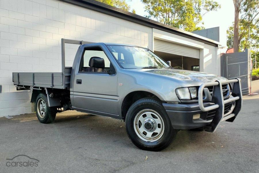 2001 Holden Rodeo LX TF Manual 4x4 MY01-OAG-AD-17086233