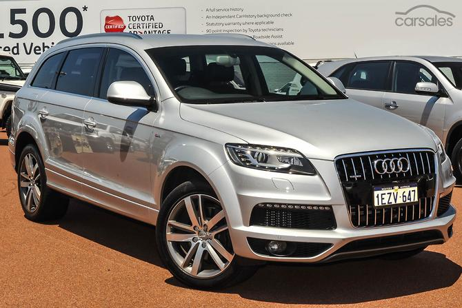 New Used Audi Q Cars For Sale In Australia Carsalescomau - How much is an audi q7