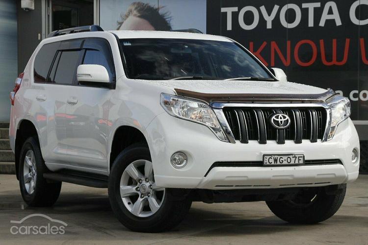 new used toyota landcruiser prado cars for sale in australia rh carsales com au Toyota Land Cruiser Prado 2018 Toyota Land Cruiser Prado VX