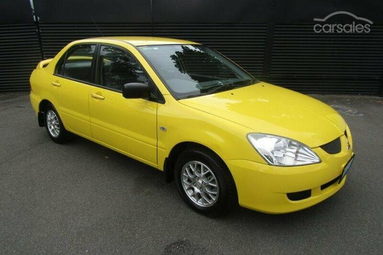New Used Mitsubishi Lancer Es Yellow Cars For Sale In Australia