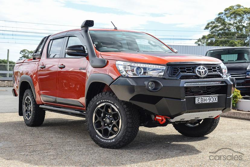 Toyota Hilux Rugged X GUN126R cars for sale in Australia - carsales