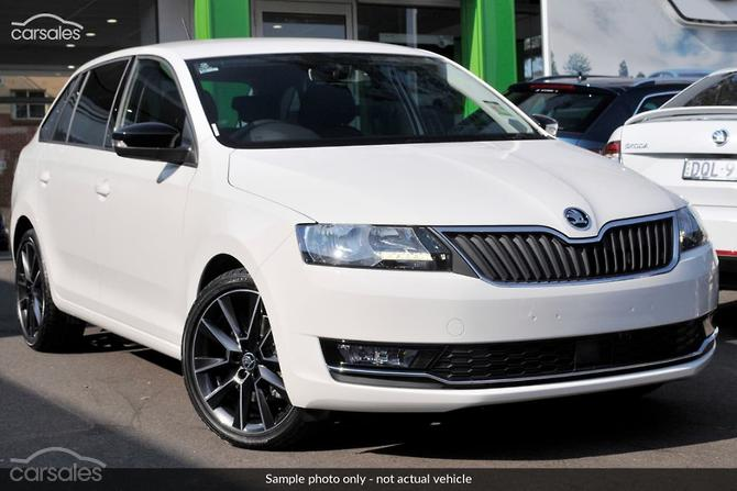 new used skoda white small hatch 5 doors 4 cylinders cars for sale
