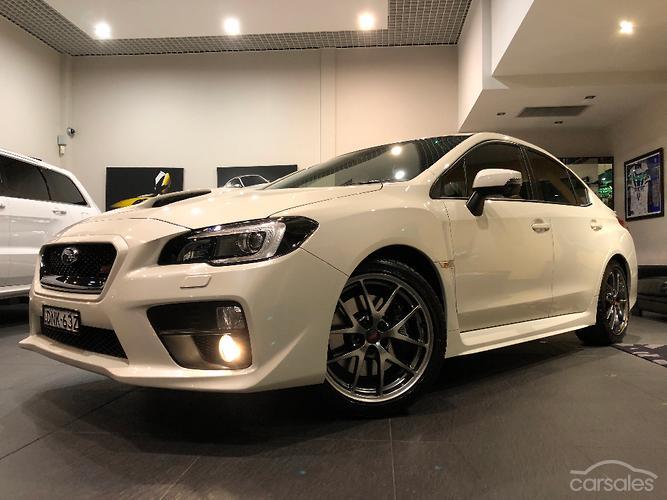 Subaru wrx sti price australia