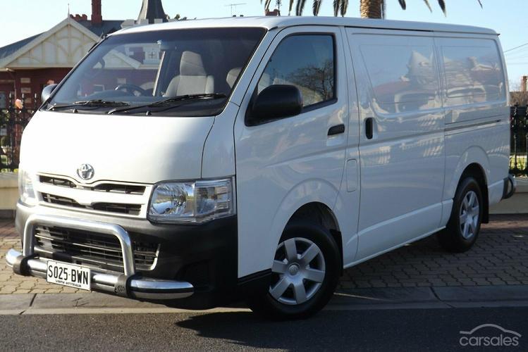 2012 Toyota Hiace LWB Manual MY12