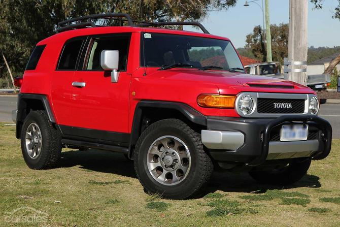 Used Toyota Fj Cruiser >> New Used Toyota Fj Cruiser Cars For Sale In Australia Carsales