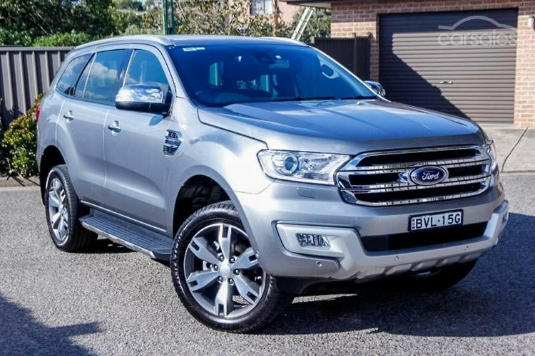 New Used Ford Everest Cars For Sale In Sydney Metro New South