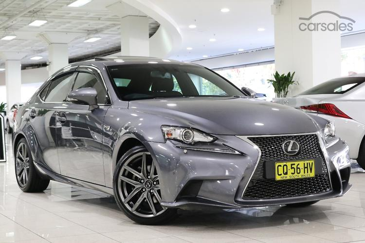 Car sales lexus is250
