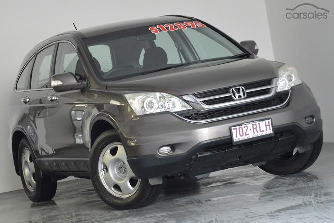 2010 Honda CR V Manual 4WD MY10
