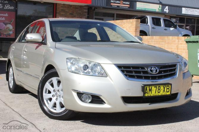 New Used Toyota Aurion Automatic Cars For Sale In Sydney New South