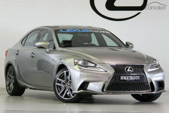 New  Used Lexus IS350 F Sport cars for sale in Australia