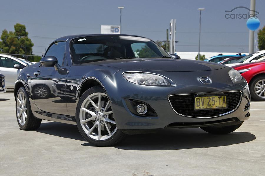 2009 Mazda MX-5 Roadster Coupe NC Series 2 Auto MY09-OAG-AD