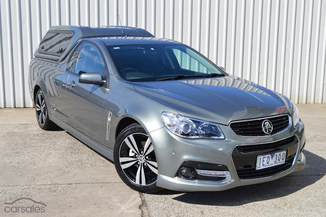 New Used Holden Ute Cars For Sale In Australia Carsales