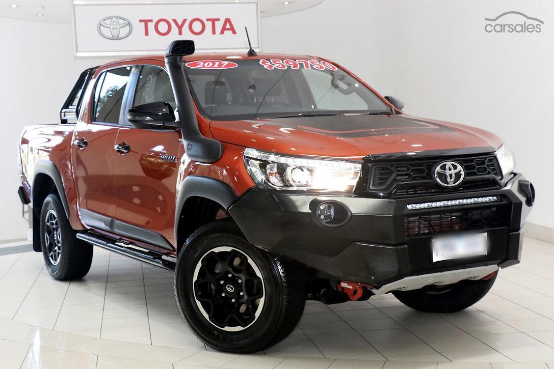 Toyota Hilux Rugged X GUN126R cars for sale in Australia