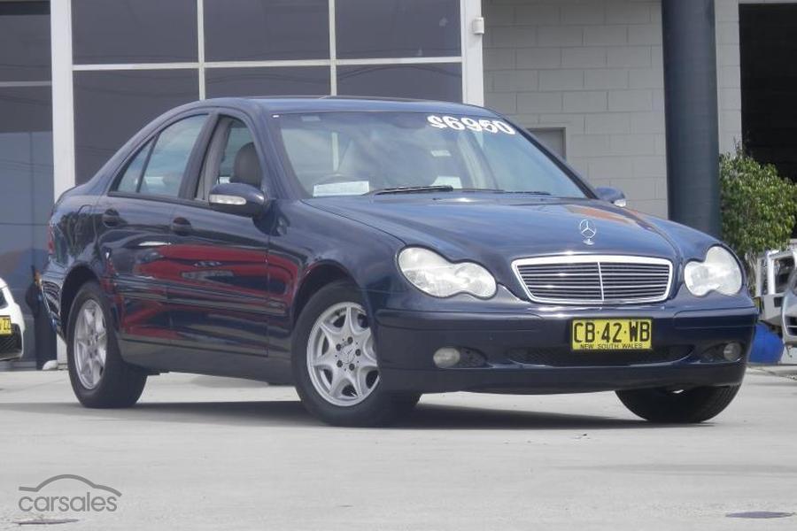 2003 Mercedes Benz C200 Kompressor Classic Auto My03 Oag Ad 15204403