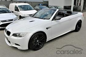 New & Used BMW M3 Convertible cars for sale in Australia - carsales ...