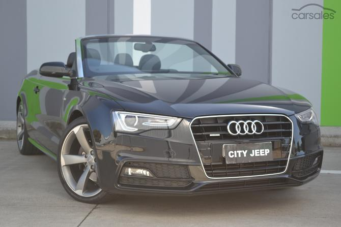 New Used Audi A Convertible Cars For Sale In Australia Carsales - Used audi a5 convertible